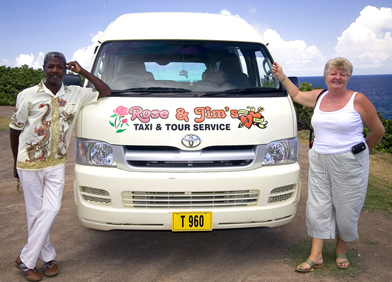 Image - Rose & Jim's Taxi & Tour Service mini bus